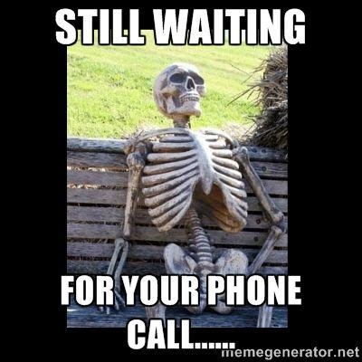 Funny Quotes Waiting Phone Call