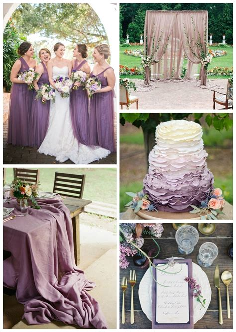 Wedding Color of the Month: Shades of Purple in 2020