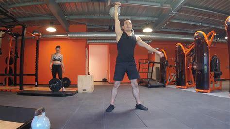 squat push press front