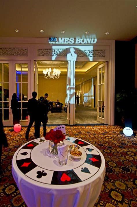A fun casino night where you will feel like a true spy ...