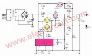 Dc Power Supply 0 30v 5a Adjustable Regulator