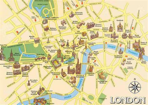 Plan Touristique Principaux Lieux De
