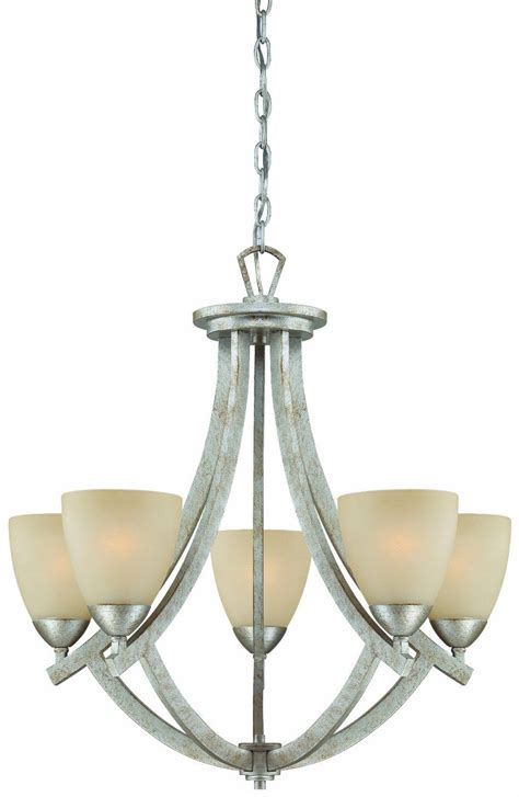 modern 5 light hanging ceiling chandelier moonlight