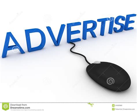 Where To Advertise by Advertise Royalty Free Stock Images Image 24062869
