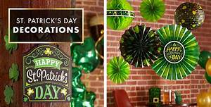 St Patrick's Day Decorations - Hanging, Table & Balloon