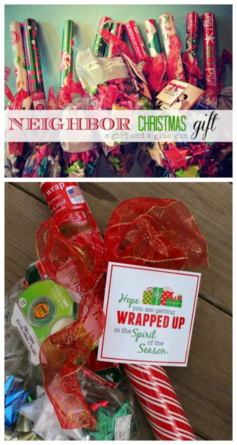 wrap it up an easy and inexpensive neighbor gift