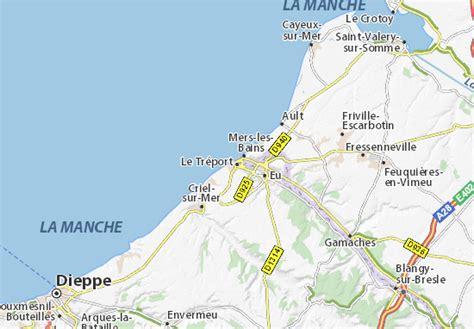 Michelin Le Tréport Map