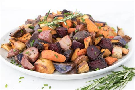 Roasted Root Vegetables With Fresh Herbs  Eating By Elaine