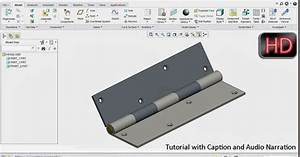 3d Solid Modelling Videos  Setting Up A Hinge  Pin