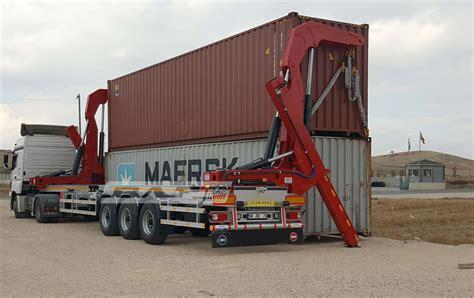 self loader truck self loader container trailer baf trailer cement