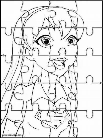 Dc Hero Websincloud Cut Activities Puzzles Printable