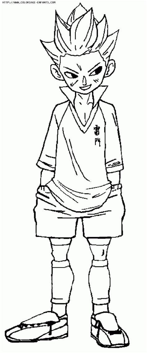 disegni da colorare inazuma eleven