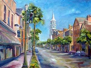 savannah georgia charleston south carolina art painting With letter photography art charleston sc