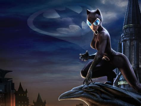 catwoman dc universe  desktop backgrounds