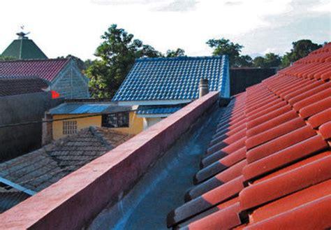 talang  atap rumah  bocor   mengatasinya