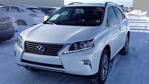 2014 Lexus Rx 450h Hybrid Awd In White Touring Package