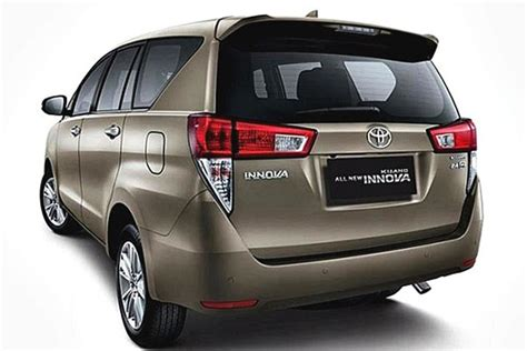 2018 Toyota Innova Review  New Cars And Trucks