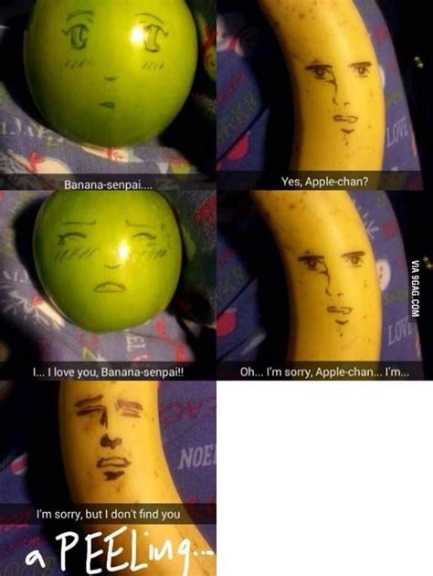Fruit Memes - senpai apple and banana meme fruit memes anime meme awesome and funny picture mix