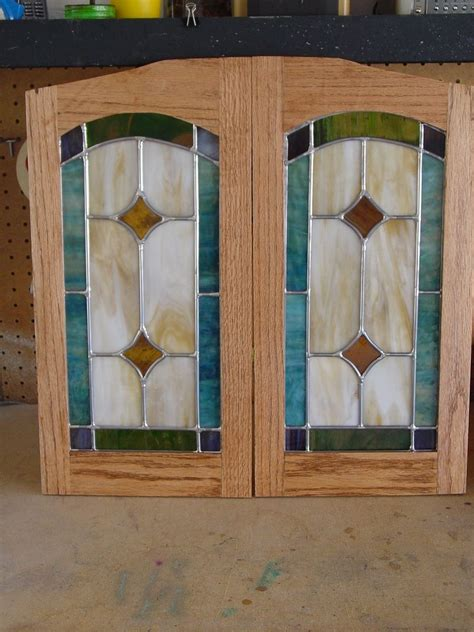 custom made cabinet doors hand made cabinet door stained glass panels by chapman