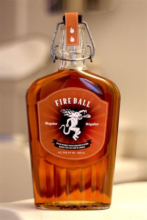 fireball whiskey  behance