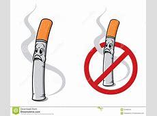 Cigarro Dos Desenhos Animados Ilustração do Vetor Imagem