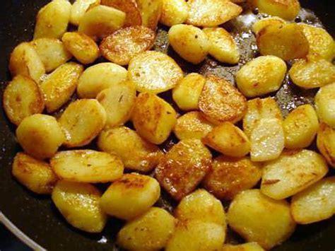 recette de pommes de terre nouvelle saut 233 e 224 la po 234 le