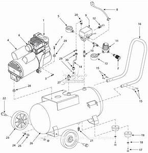 Campbell Hausfeld Wl612300 Parts Diagram For Air