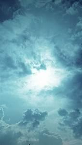 Dark Blue Sky Wallpaper - Free iPhone Wallpapers