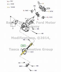 New Genuine Oem Steering Column Shaft 2008