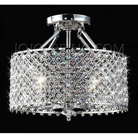 chrome 4 light ceiling chandelier
