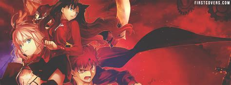 fate stay night facebook cover profile cover