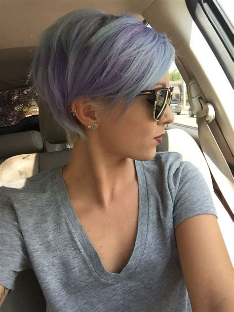 20 Grey Blue Hair Colour Trend For Women Pretty Inspiration