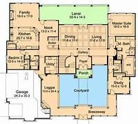 courtyard house plans Elegant Courtyard House Plan - 16854WG   Architectural ...