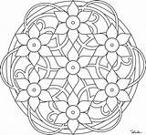 Mandala Coloring Pages Mandalas Printable Adult Adults Spring Daffodil Flower Simple Colouring Pattern Celtic Daffodils Books Unique Designs Paste Eat sketch template