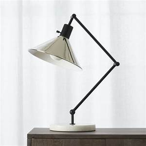 gris table lamp CB2