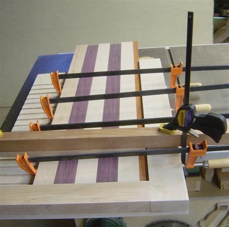 geoffs cutting board glueup jig  wood whisperer