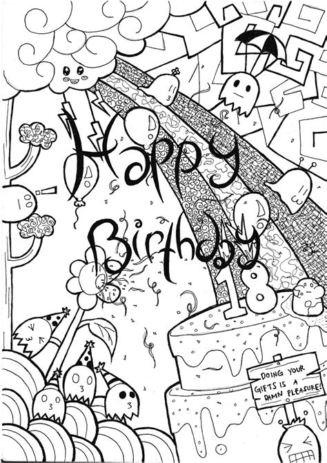 birthday drawings   clip art  clip