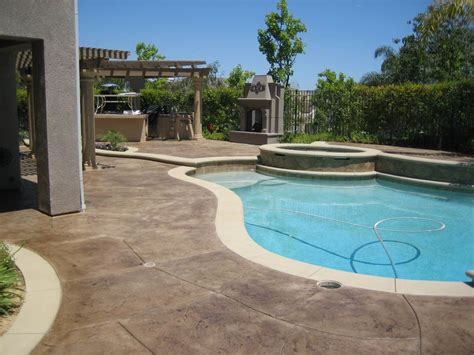 pool decks and patios paint pool patio deck concrete sting staining color