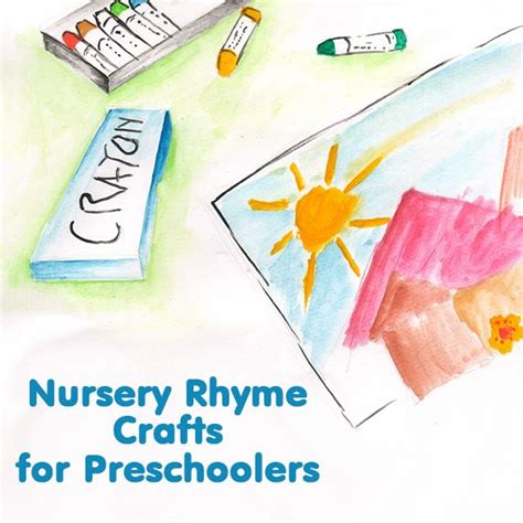 nursery rhymes lesson plans for preschool 5 nursery rhyme crafts for preschoolers ideas and activities 859