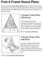 a frame plans free free house plans free floor plans
