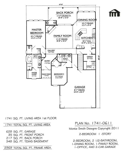 two house designs narrow 2 bedroom house plans