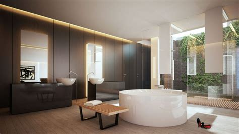 bathroom bathrooms modern mexico sunlight bench room contemporary beauty 4th studio natural gorgeous streams connected nature into minimalist khachilife interior