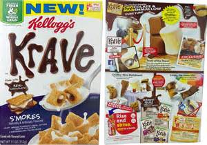 Krave Chocolate Cereal Characters