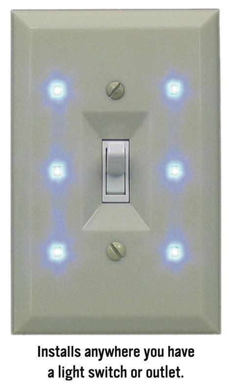 lite  switch elegant night light improves hotel guest