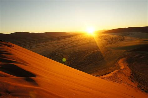 sunrise dune photo