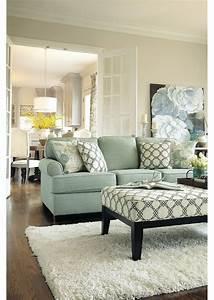 Bright, And, Elegant, Living, Room, Decor, With, White, Shag, Rug