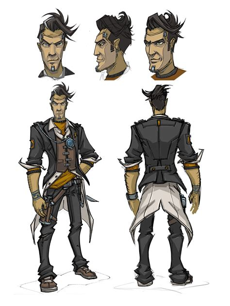 A Guided Tour Of Borderlands 2 Concept Art Feature Mod Db