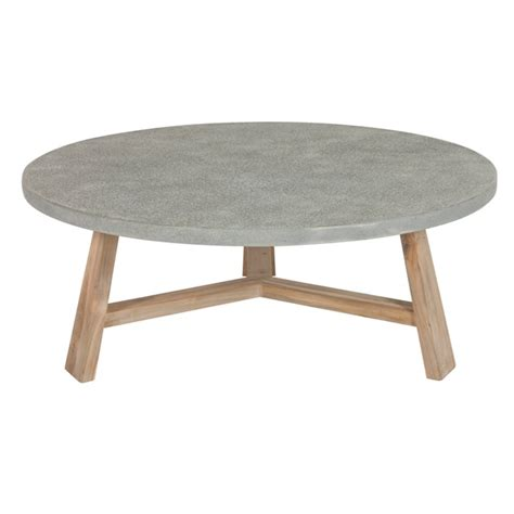 concrete top end table round concrete coffee table could build one like this with