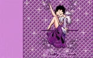 Purple Betty Boop