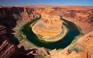 horseshoe river in utah usa wallpaper hd wallpapers